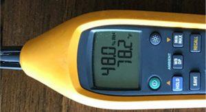 moisture meter readings what is normal