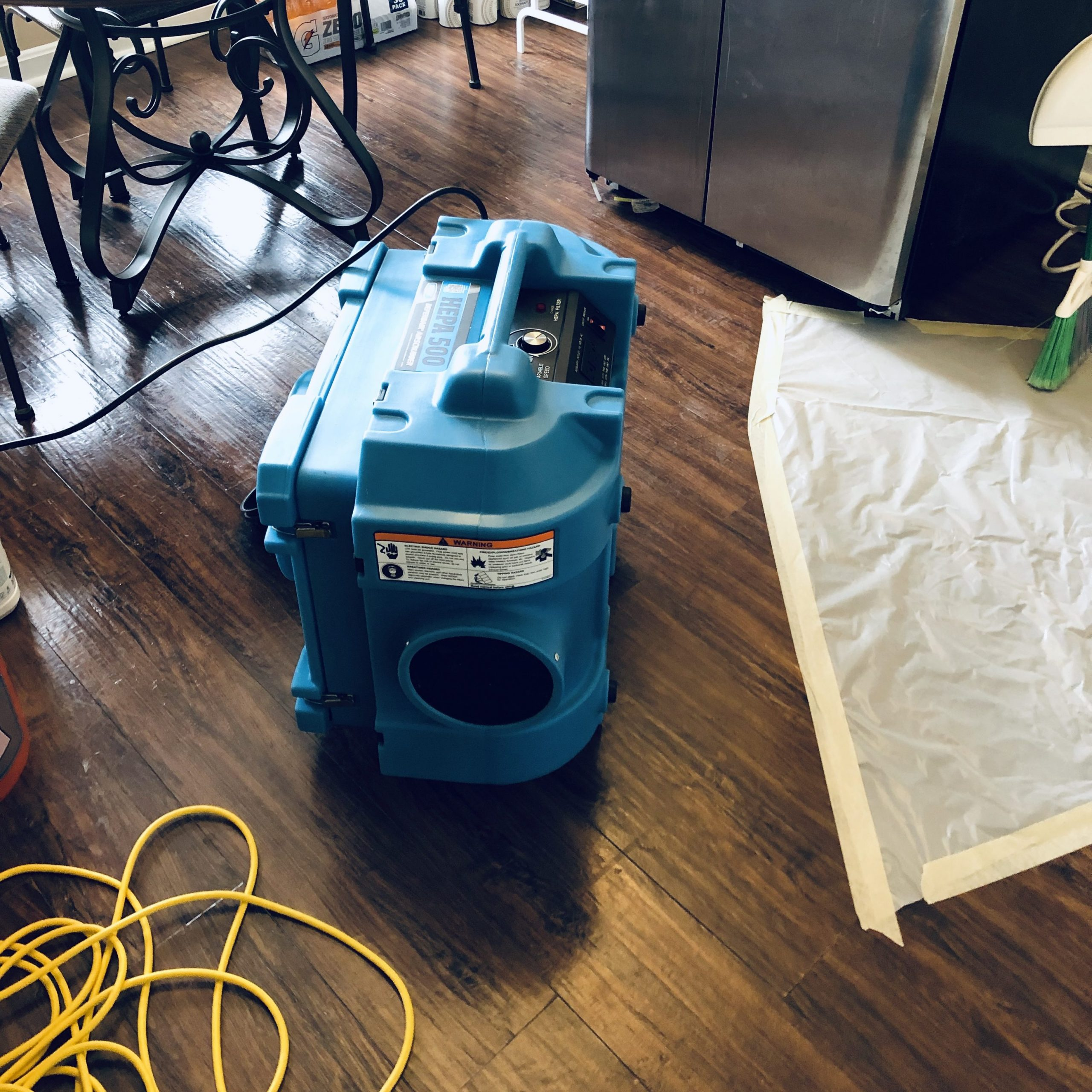 Frequently Asked Questions about the Air Scrubber DefendAir HEPA 500
